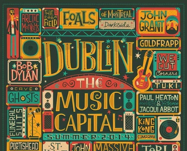 Dublin - 53+ FREE Timeless Vintage & Retro Typography Designs IDEA [year]
