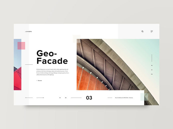 Facade - 53+ GREAT Architecture Website UI Designs IDEA [year]
