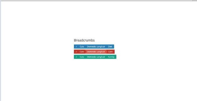 Flat-Breadcrumb-buttons - 38+ FREE CSS Breadcrumb Navigation IDEA [year]