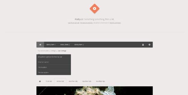 Flatby-Ui - 38+ FREE CSS Breadcrumb Navigation IDEA [year]