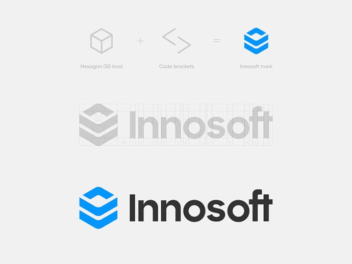 Innosoft - 36+ NICE FREE Logos Playing With Perspective IDEA [year]