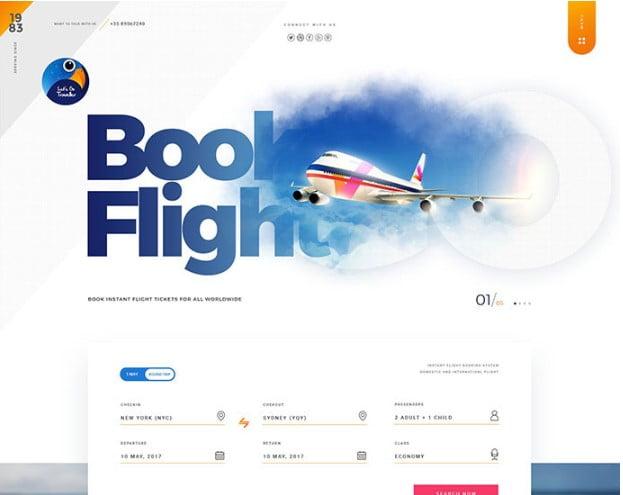 Let's-GO-Traveller-2 - 53+ BEST Designed PSD Website Templates [year]