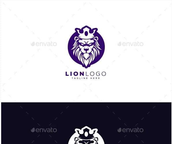 Lion-Logo - 36+ NICE FREE Logos Playing With Perspective IDEA [year]