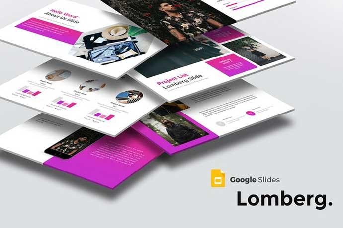 Lomberg - 35+ BEST Google Slide Templates [year]