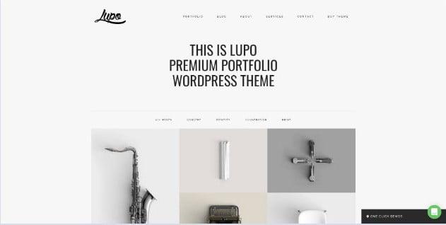 Lupo - 33+ NICE Developer WordPress Portfolio Themes [year]