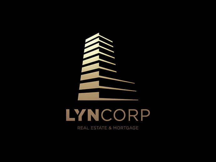 Lyncorp - 36+ NICE FREE Logos Playing With Perspective IDEA [year]