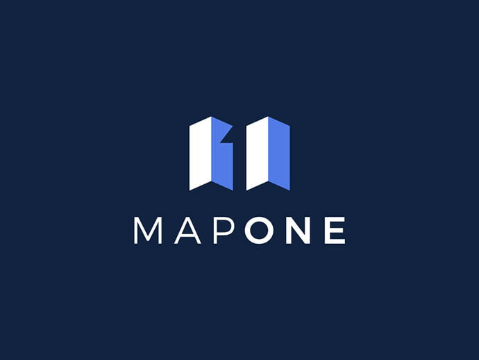MapOne - 36+ NICE FREE Logos Playing With Perspective IDEA [year]