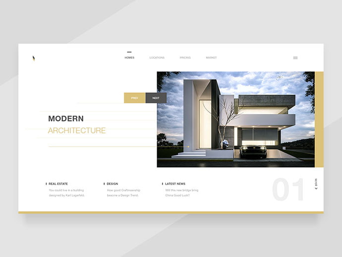 Modern-Architectures - 53+ GREAT Architecture Website UI Designs IDEA [year]