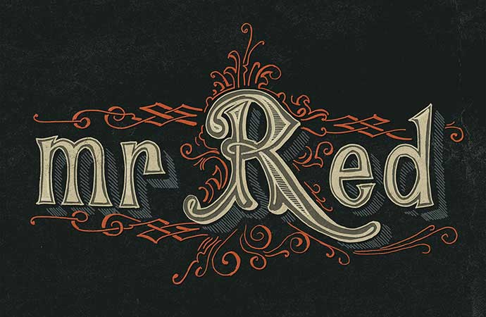Mr-Red - 53+ FREE Timeless Vintage & Retro Typography Designs IDEA [year]