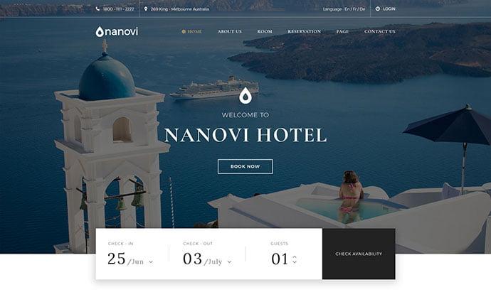 Nanovi - 53+ BEST Designed PSD Website Templates [year]
