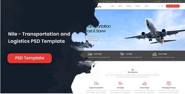 Nile - 53+ BEST Designed PSD Website Templates [year]