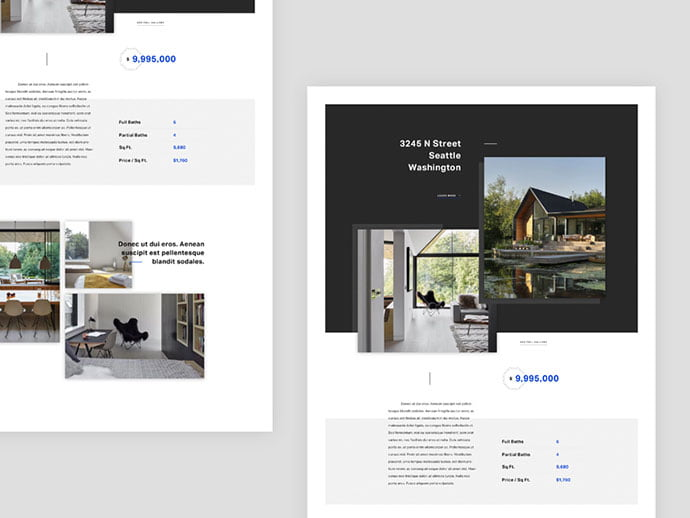 Realty - 53+ GREAT Architecture Website UI Designs IDEA [year]