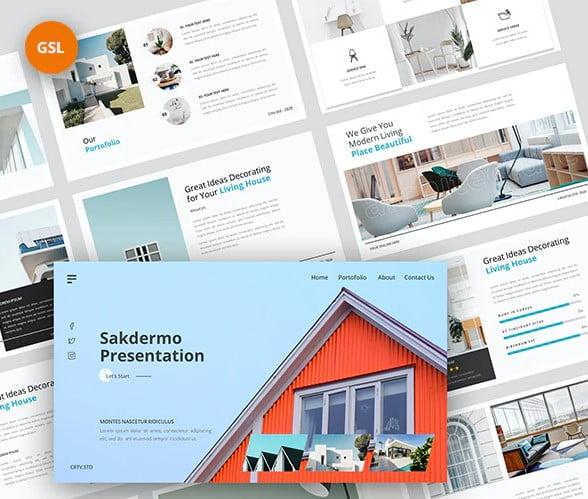Sakdermo - 35+ BEST Google Slide Templates [year]