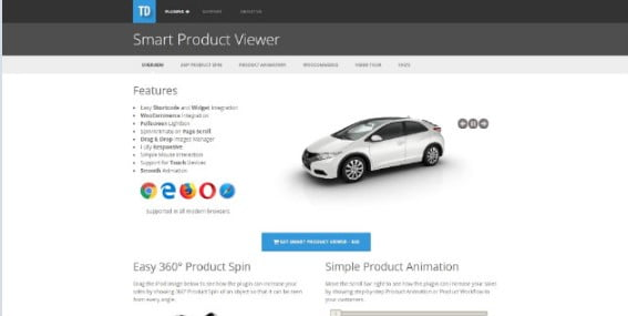 Smart-Product-Viewer - 33+ 360 Degree Image and Video Viewer WordPress Plugins [year]