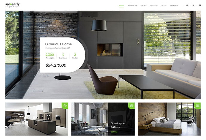 Sproperty - 53+ BEST Designed PSD Website Templates [year]