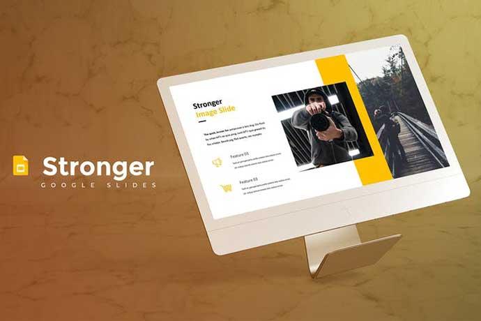 Stronger - 35+ BEST Google Slide Templates [year]