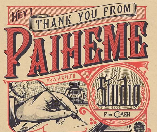 Thank-You - 53+ FREE Timeless Vintage & Retro Typography Designs IDEA [year]