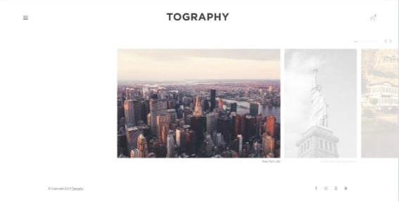 Tography - 33+ NICE Street Photographer WordPress Themes [year]