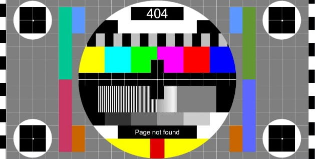 Video-Test-Card-in-pure-CSS - 53+ BEST FREE CSS 404 Error Page IDEA [year]