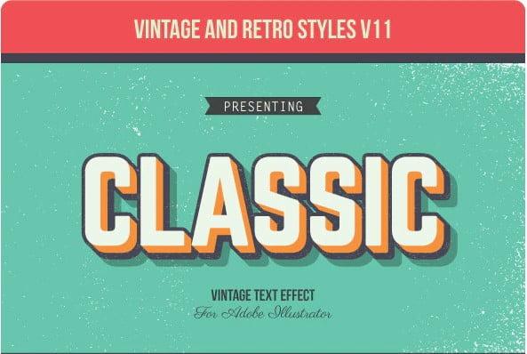 Vintage-Retro-Typography-Designs - 53+ FREE Timeless Vintage & Retro Typography Designs IDEA [year]