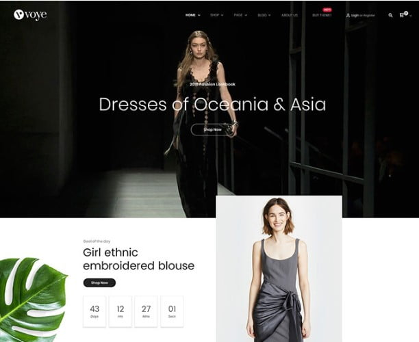 Voye - 53+ BEST Designed PSD Website Templates [year]