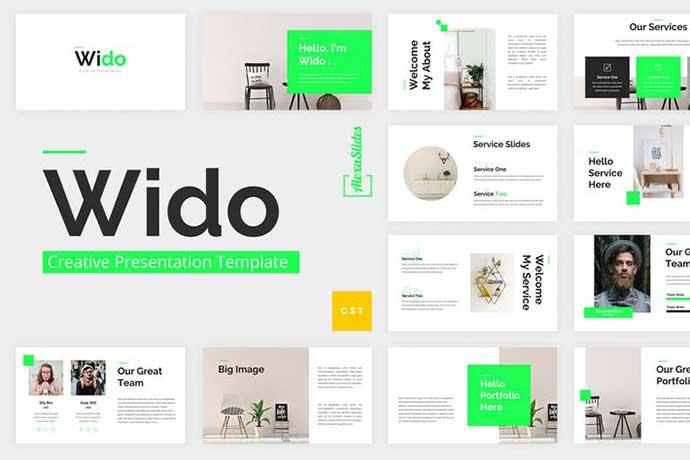 Wido - 35+ BEST Google Slide Templates [year]