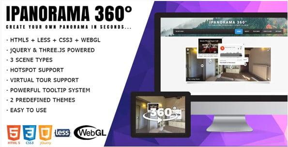 iPanorama-360° - 33+ 360 Degree Image and Video Viewer WordPress Plugins [year]
