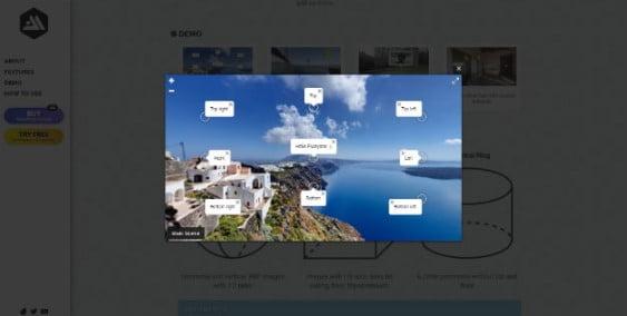 iPanorama - 33+ 360 Degree Image and Video Viewer WordPress Plugins [year]