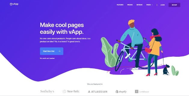 vApp - 33+ AWESOME Blob Shaped WordPress Themes [year]