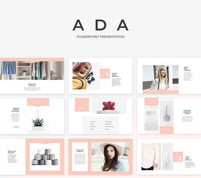 Ada - 39+ BEST Compelling Presentations PowerPoint Templates [year]