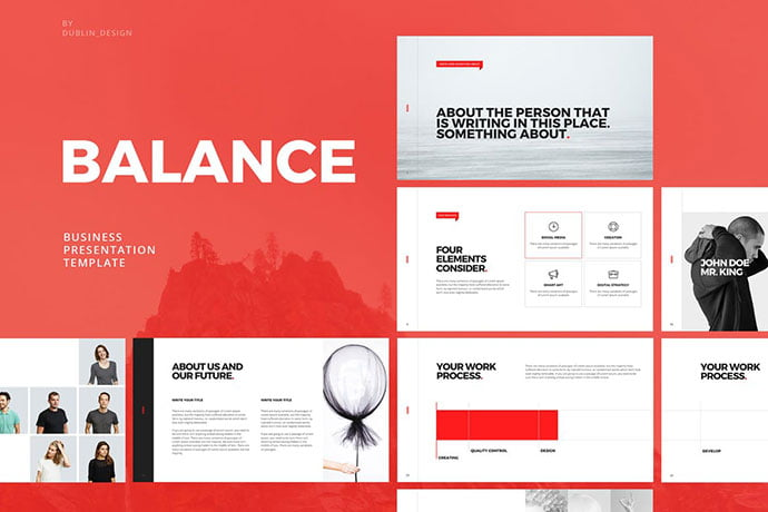 Balance - 39+ BEST Compelling Presentations PowerPoint Templates [year]
