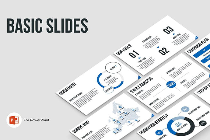 Basic-Slides - 39+ BEST Compelling Presentations PowerPoint Templates [year]