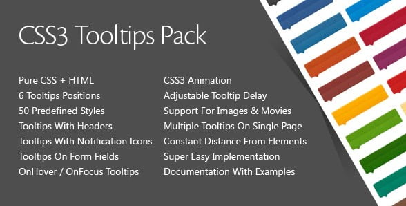 CSS3-Tooltips-Pack - 33+ BEST FREE CSS Tooltip IDEA [year]