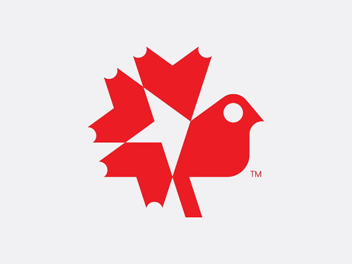 Canada-Bird - 38+ AWESOME FREE Animal Logos Collections [year]