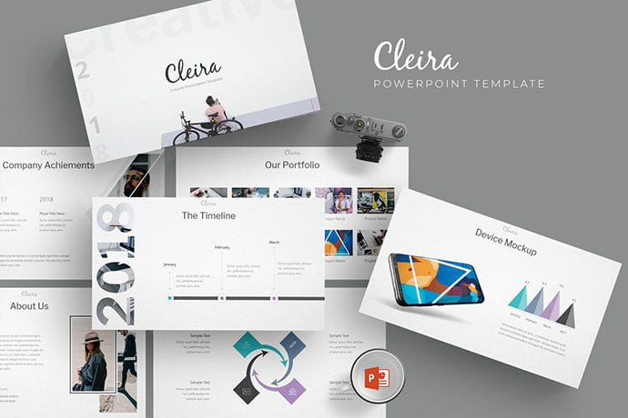 Cleira - 39+ BEST Compelling Presentations PowerPoint Templates [year]