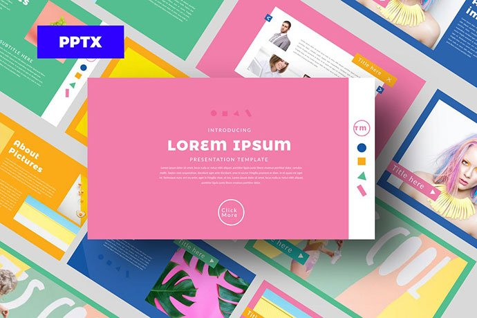 Color-FUN - 39+ BEST Compelling Presentations PowerPoint Templates [year]