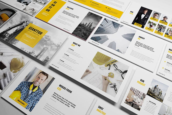 Construction - 39+ BEST Compelling Presentations PowerPoint Templates [year]