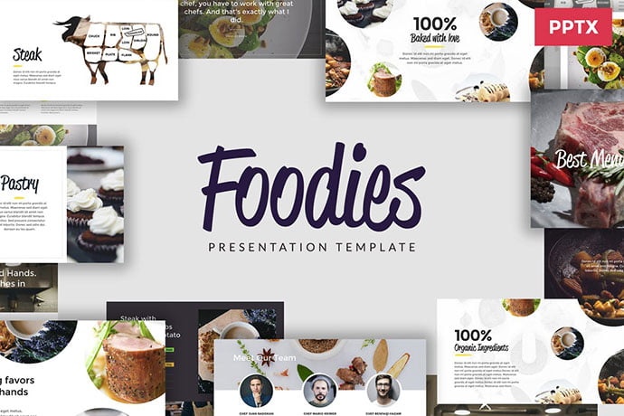 Culinary - 39+ BEST Compelling Presentations PowerPoint Templates [year]