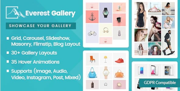 Everest-Gallery - 33+ FREE Web & Mobile Image Slider & Gallery Plugins [year]