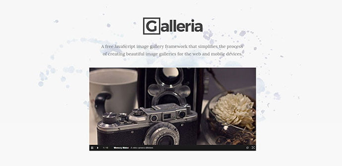 Galleria - 33+ FREE Web & Mobile Image Slider & Gallery Plugins [year]