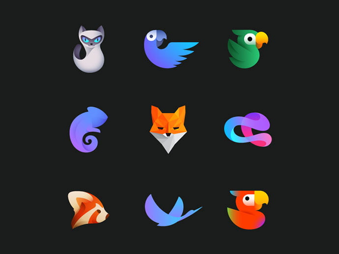 Ivan-Bobrov - 38+ AWESOME FREE Animal Logos Collections [year]