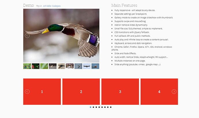 JQuery-lightSlider - 33+ FREE Web & Mobile Image Slider & Gallery Plugins [year]