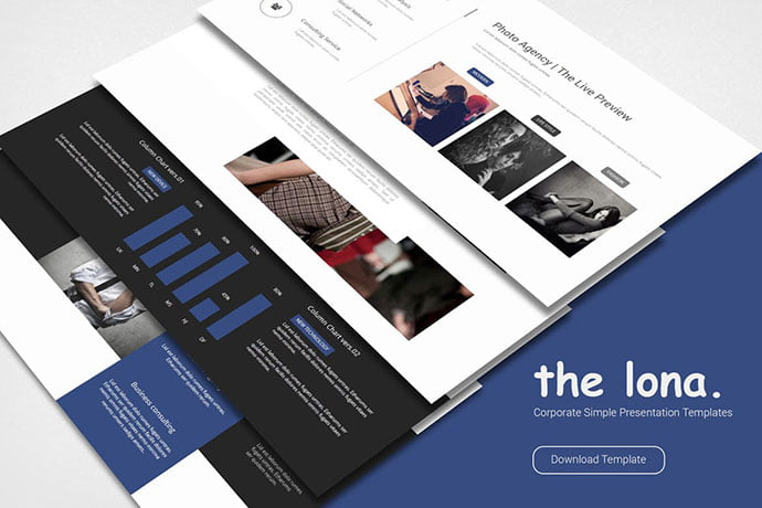 Lona-Business-Simple - 39+ BEST Compelling Presentations PowerPoint Templates [year]