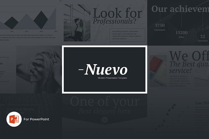 Nuevo - 39+ BEST Compelling Presentations PowerPoint Templates [year]