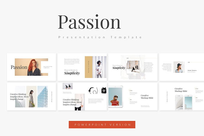 Passion - 39+ BEST Compelling Presentations PowerPoint Templates [year]