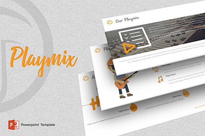Playmix - 39+ BEST Compelling Presentations PowerPoint Templates [year]