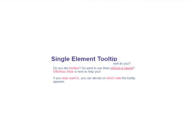 Single-Element-Tooltip - 33+ BEST FREE CSS Tooltip IDEA [year]