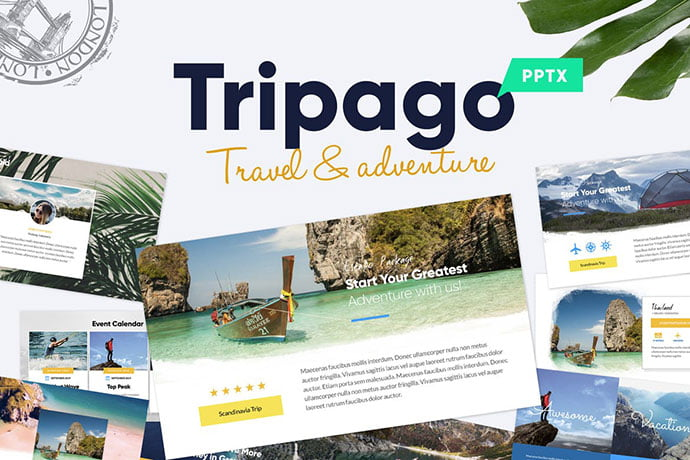 Travel-Business - 39+ BEST Compelling Presentations PowerPoint Templates [year]