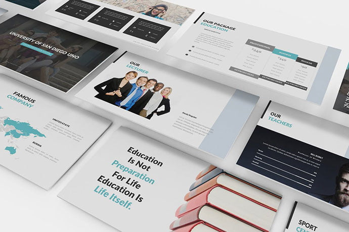 University-and-Education - 39+ BEST Compelling Presentations PowerPoint Templates [year]