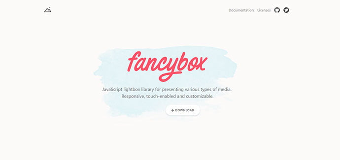 fancyBox - 33+ FREE Web & Mobile Image Slider & Gallery Plugins [year]